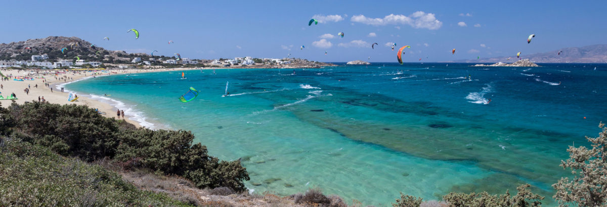 Kite Camp Grecia in catamarano by Watertribe